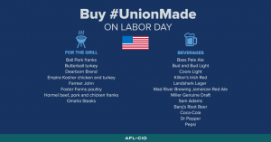 Union made items