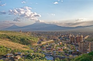 Yerevan, capital of Armenia.